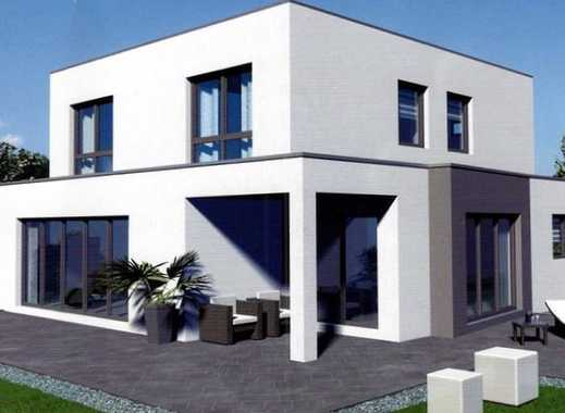 Modernes Einfamilienhaus auf großem Baugrundstück! Südlage! Kurze Bauzeit! Massivhaus!
