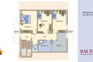 3 Zimmer Wohnung in Freiburg im Breisgau