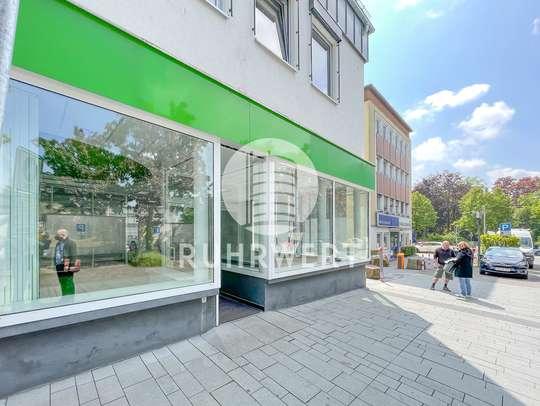 Schaufensterfront von Ladenlokal in A-Lage | Direkt an der Fußgängerzone