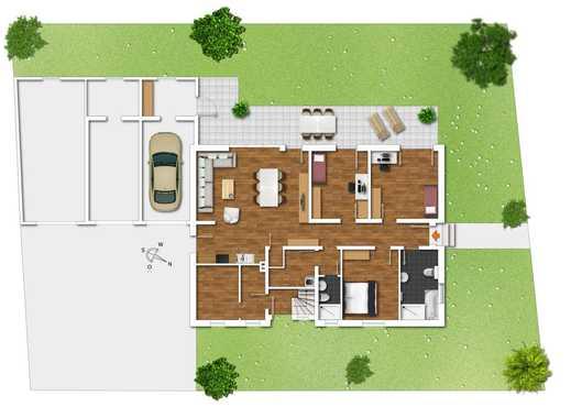 ***Erdgeschosswohnung mit Terrasse und Garten***