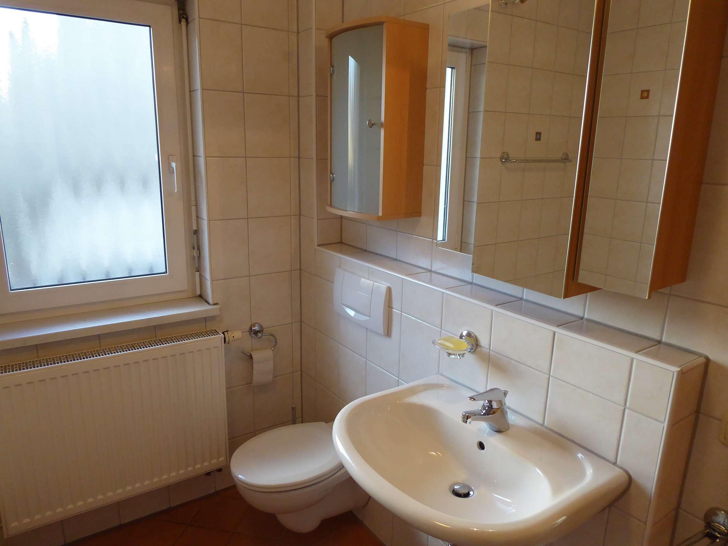 schöne, geräumige und neuwertige 2-Zimmer-EG-Wohnung mit Balkon und EBK in Erlangen in