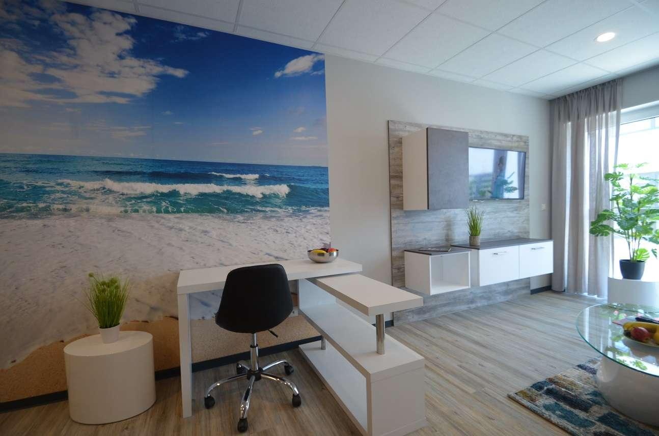 komplett ausgestattete möblierte Wohnung, schick, neu - Schlagen Sie zu! in
