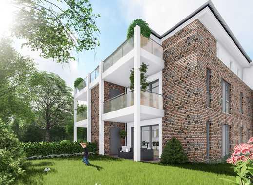 Neubau- Erstbezug in Uetersen!  Großzügige 3 Zimmer Komfort-Wohnung mit Balkon