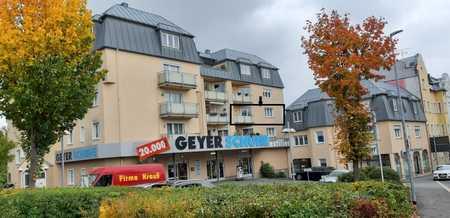 Freundliche 3-Zimmer-Wohnung mit Balkon und TG-Stellplatz in Rehau in Rehau