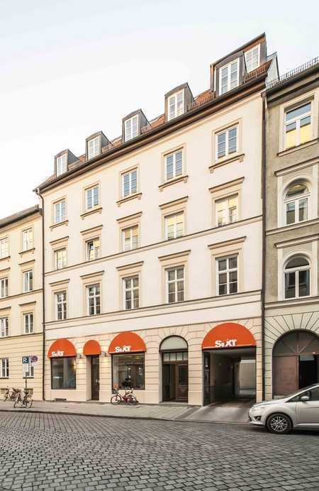 Spitzenlage mitten im Lehel: 3,5 Zimmer Altbauwohnung in Lehel (München)