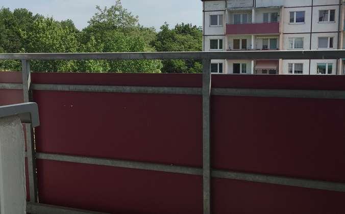 Balkon Zugang Küche