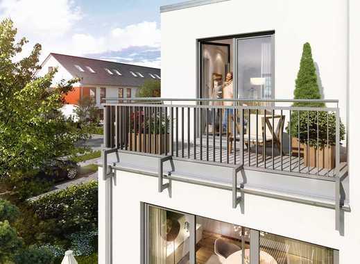 Moderne Doppelhaushälfte mit großzügigem Wohnbereich, Dachterrasse, Terrasse & Garten