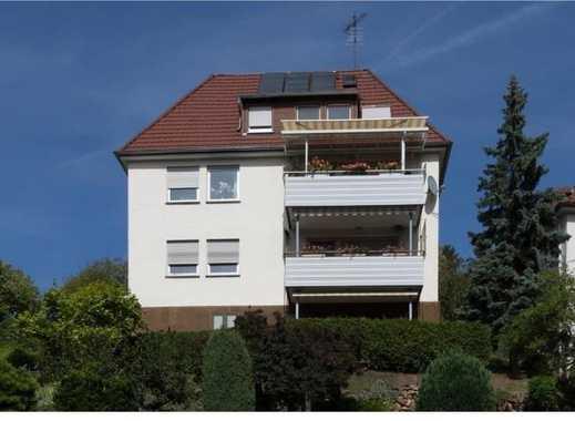 Schöne 3,5 Zimmer Wohnung mit Balkon in bester Aussichtslage in Stuttgart, Ost