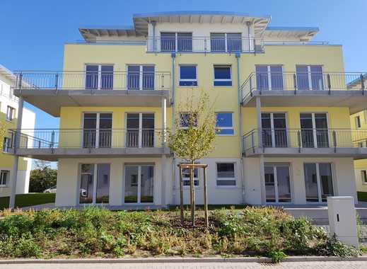 Bezugsfertig! Neubauwohnung + Garten, mit viel Grün & dem Blies-See vor der Haustür