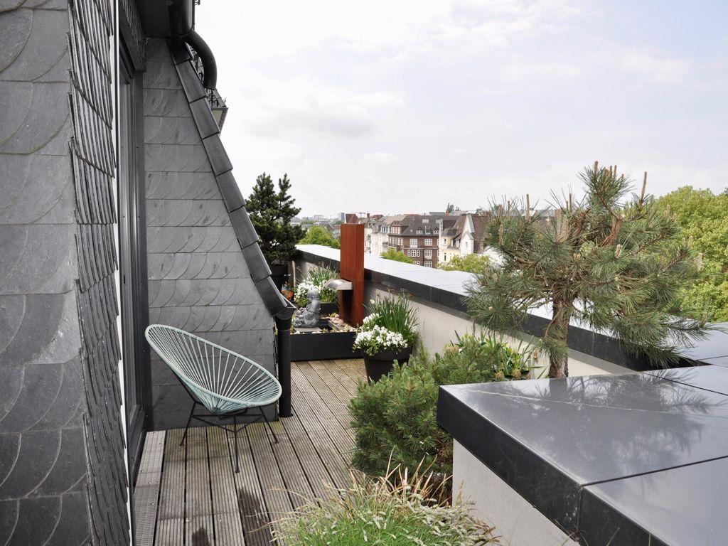 Angelegter Dachgarten