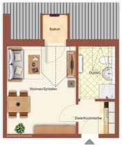 Bild Gemütliches 1-Zimmer-Apartment (118) in Lindberg-Spiegelhütte / Bay. Wald