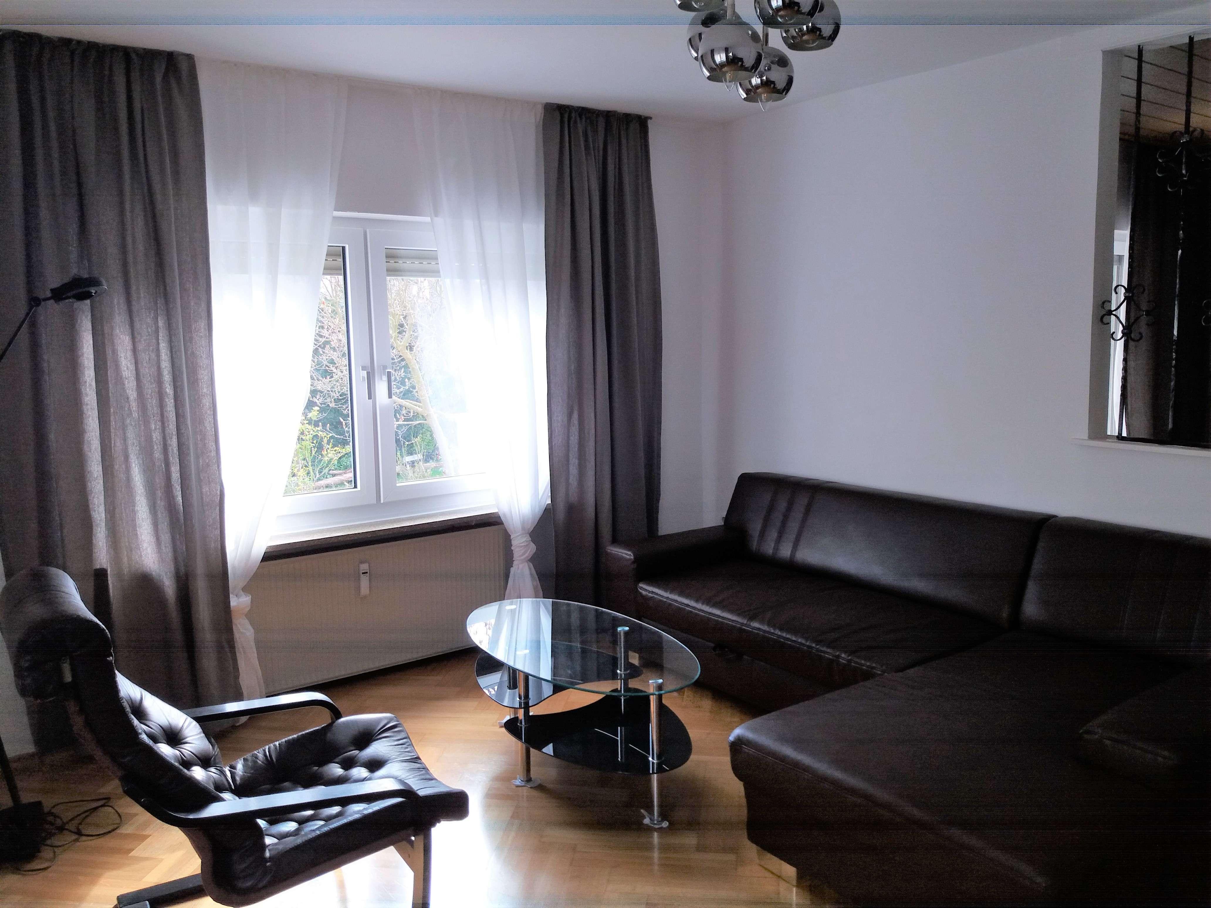 Möblierte, modernisierte 3-Zimmer-Garten-Wohnung in