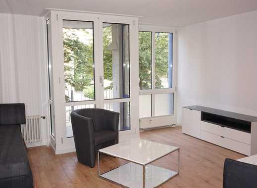 1-Raum Wohnung möbliert mit EBK, Balkon inkl. TV & Internet