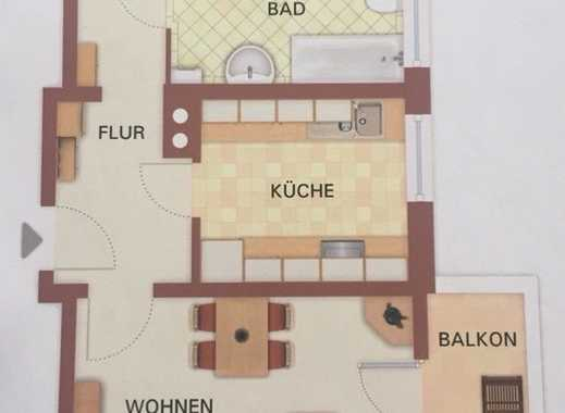 Helle, sanierte 2-Zimmer-Wohnung mit Balkon in Dresden