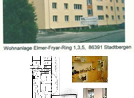 Souterrain Wohnung in Augsburg (Kreis), Stadtbergen  (am Sheridan Park)