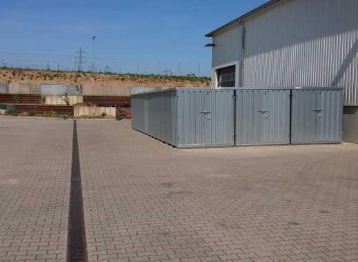 Lagerflächen - Lagercontainer -  Lagerraum