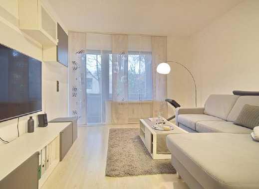 Helle, möblierte Wohnung mit Parkplatz, Internet, SmartTV und Balkon in Rüttenscheid