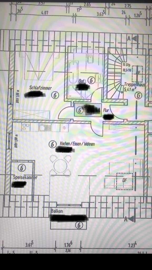 Erstbezug: stilvolle 2-Zimmer-DG-Wohnung mit Balkon in Oberding in