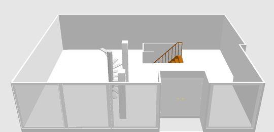 Visualisierter Grundriss