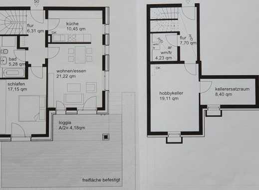 Stilvolle 2-Zimmer-EGW in Haar mit  großem Hobbyraum