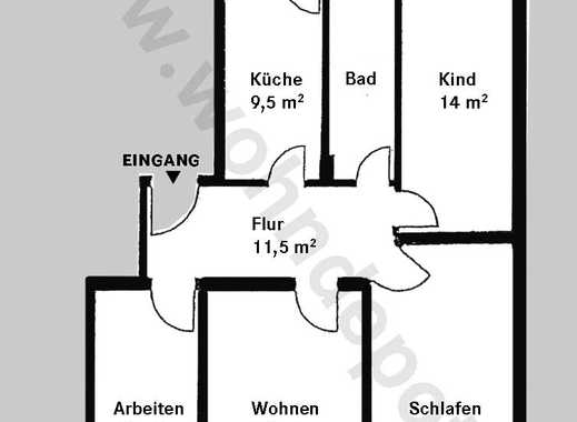 wohnung mieten in zentrum nordwest immobilienscout24. Black Bedroom Furniture Sets. Home Design Ideas