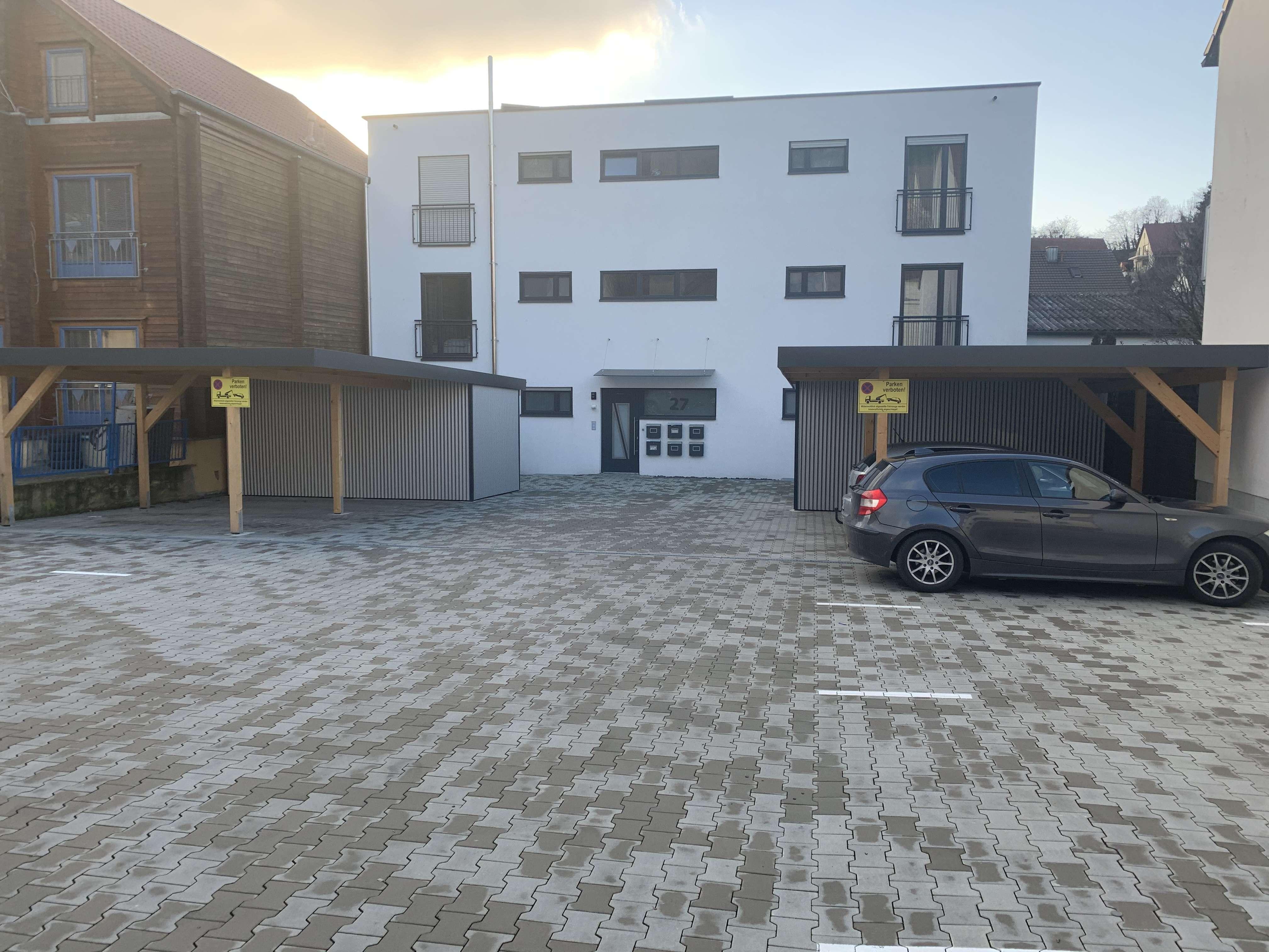 Neuwertige 2,5-Zimmer-Erdgeschosswohnung mit Balkon in Dittelbrunn in Dittelbrunn