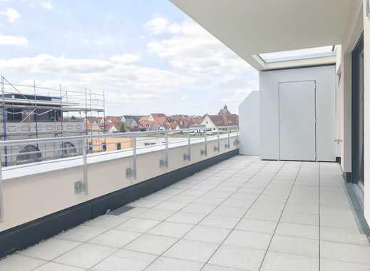 Attraktive 2- Zimmerwohnung im Dachgeschoss mit Dachterrasse (Wohnung 28)
