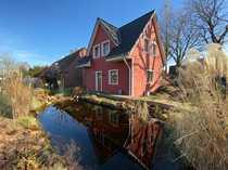 2 Häuser mit Carport Teich
