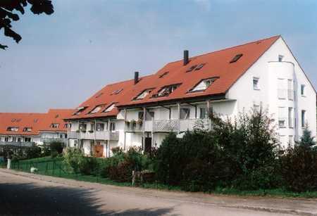 2 Zimmer Wohnung mit Balkon, Abstellraum und Tiefgaragenstellplatz in Jettingen-Scheppach