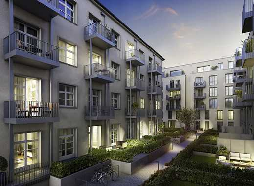 Moderne 3-Zi.-Wohnung mit Balkon im liebevoll saniertem Gartenhaus - mitten in Weißensee