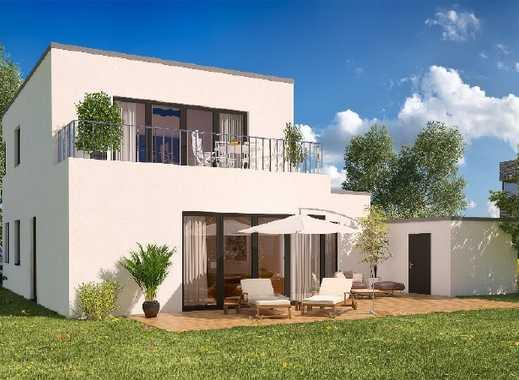 Modernes freistehendes Einfamilienhaus mit Gestaltungsoptionen