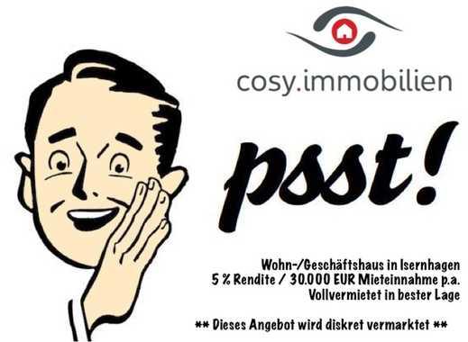 Wohn-/Geschäftshaus in Isernhagen mit 5% Rendite - vollvermietet, pro.frei