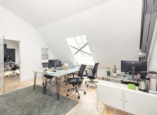 Teambüro mit 7 Arbeitsplätzen in den AEG-Höfen (Unicorn AEG I)