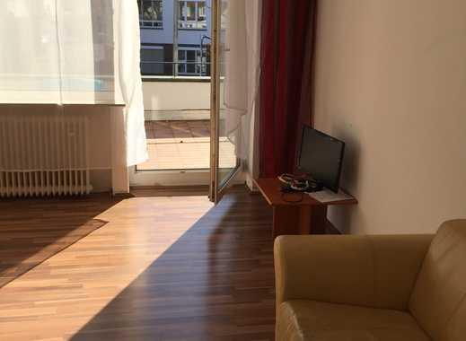 Möblierte 2-Zimmer-Wohnung mit Terrasse nähe Mathildenhöhe