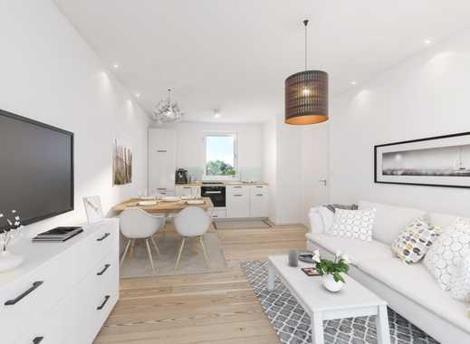 Zwei Zimmer Erdgeschosswohnung mit über 100 m² Gartenanteil und zwei Stellplätzen