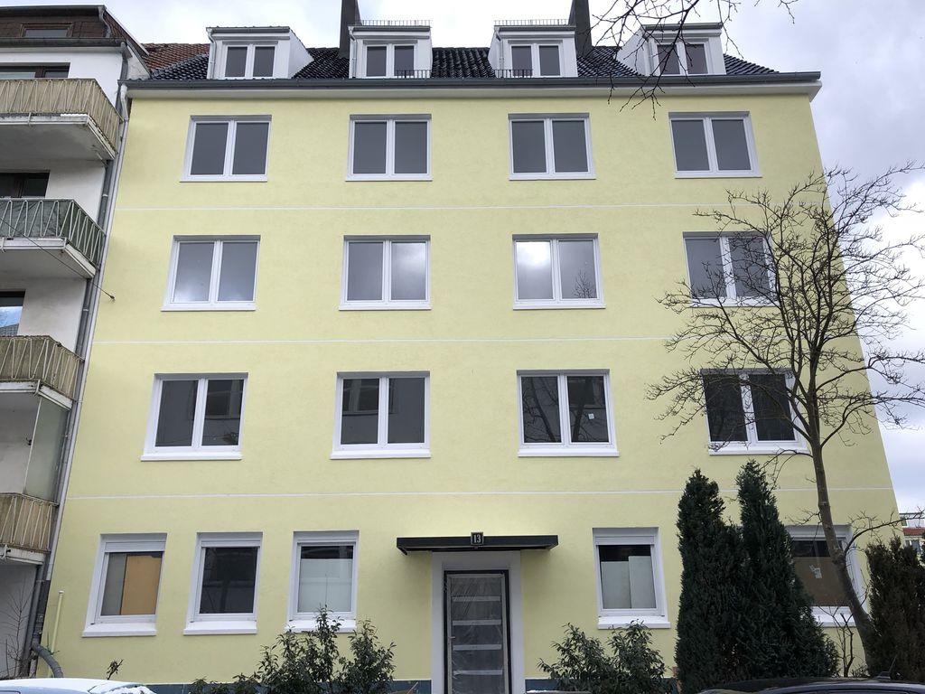 2-Zimmer/Loggia Balkon/Erstbezug nach Kernsanierung/Toplage