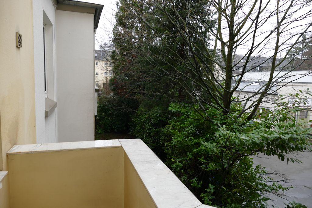 Blick Balkon Richtung Innenhof