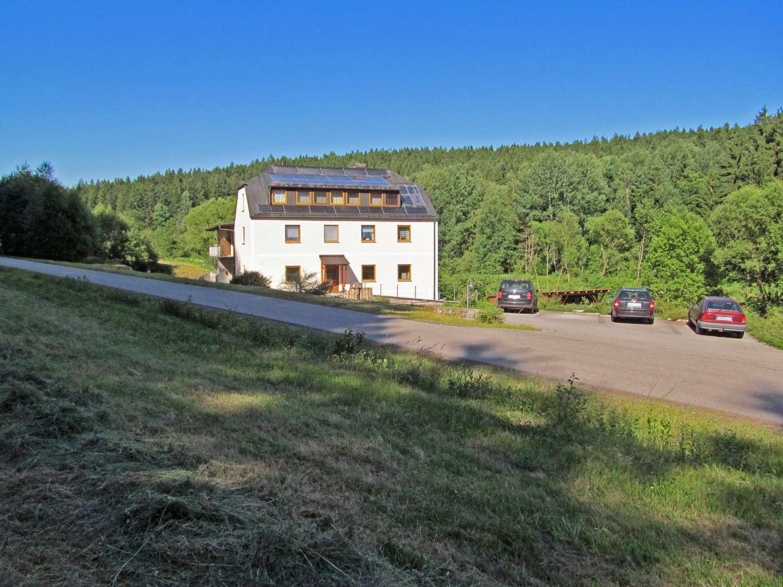 2 Wohnungen in der Natur / Alleinlage, nähe Grenze zu Tschechien in