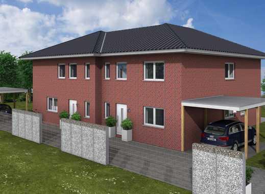 Moderne - Neubau Doppelhaushälfte, 156 qm Wohnfläche, Zentrale Lage