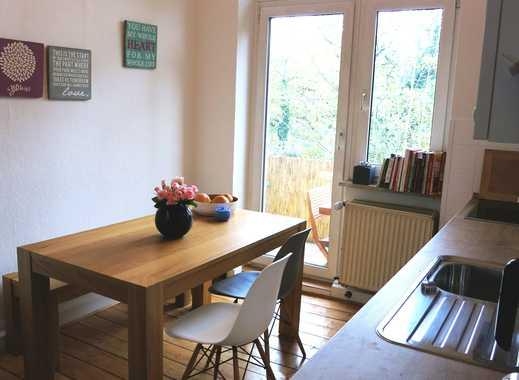 für Pendler: Traumhafte, helle Altbau-Wohnung mit Stuck und großem Balkon in Köln Zollstock