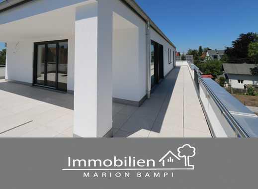 Neubau! - Traumhafte Dachgeschoß-Wohnung mit umlaufender Terrasse!