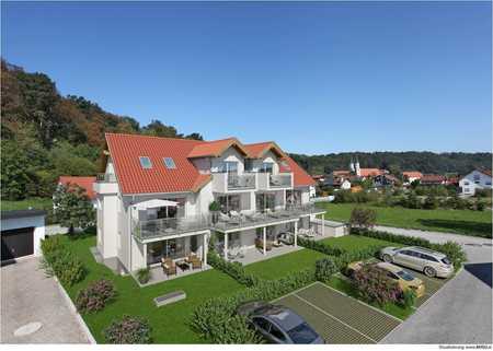 Neubau: 2 Zi mit großem Balkon Gars am Inn in Gars am Inn
