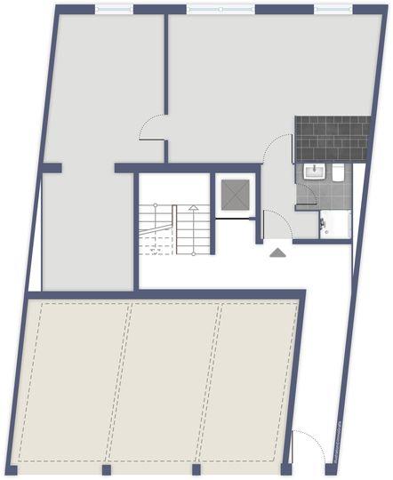 Grundriss EG ohne Möbel