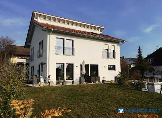Exklusives Einfamilienhaus mit Blick über Schorndorf