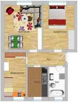 Hübsche 3 Raum Wohnung in