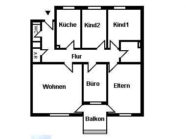 Sonntagsfrühstück auf dem Balkon! Gepflegte 5-Zimmer-Wohnung in Regensburg Nähe Alex Center in