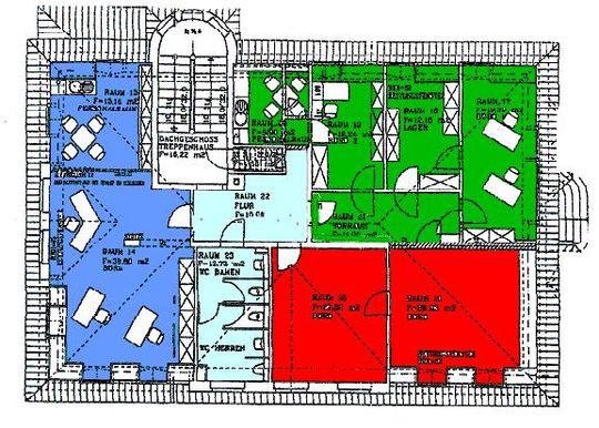 Grundriß 1.OG blaue Fläche