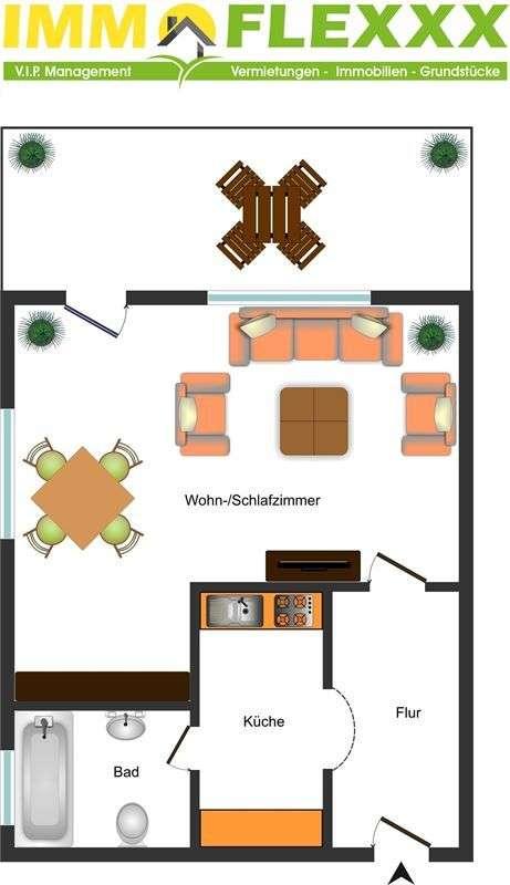 Terrassenappartement mit Wohlfühlgarantie
