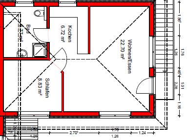 Stilvolle, neuwertige 2-Zimmer-Wohnung in 85456 Pesenlern / Wartenberg (ruhige Lage) in