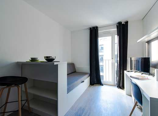 Neubau-Erstbezug - möbliertes Apartment - Fitnessfläche im Haus -